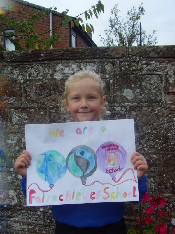 Fairtrade Sign Design Competition Winner