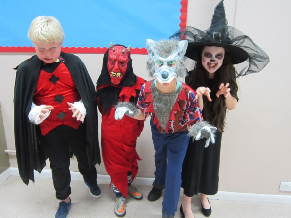 ROTA kids Halloween fundraiser for Guide Dogs
